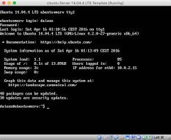 install ubuntu server 14 04 4 on virtualbox