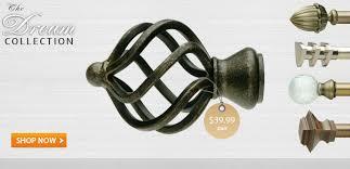 curtain rods drapery hardware usa buy online