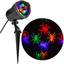 whirl a style gemmy whirl a motion spider multi color led lightshow projector