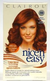 clairol nice n easy natural light auburn amazon com clairol nice n easy color 110 natural light auburn