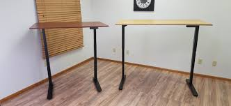 jarvis bamboo adjustable standing desk standing desk comparison uplift 900 desk vs jarvis desk