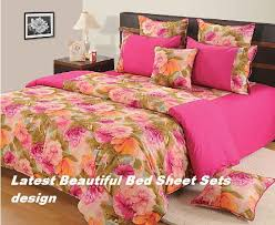 Cotton Bed Linen Sets - bed sheet with cotton bed sheets design latest beautiful bed