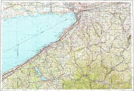 Buffalo Map Download Topographic Map In Area Of Buffalo Jamestown
