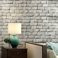 wallpaper design batu bata classic 3d stone brick pvc deep embossed wallpaper living room