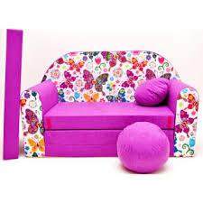 canapé enfant 2 places canape sofa enfant 2 places convertible papillons achat prix