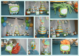 turtle baby shower decorations to set baby shower themes