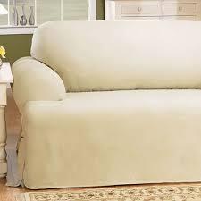 Macy S Sofa Covers by Sofa Slip Cover Serta Twill T Cushion Sofa Slipcover Reviews