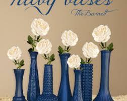 navy blue decor etsy