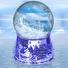 a new day snow globe by aim4beauty on deviantart