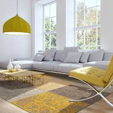 Yellow Rugs Yellow And Grey Rugs Creative Rugs Decoration