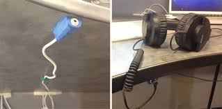 keep cables on desk keep your desk clutter free with a headphone cable extension sugru