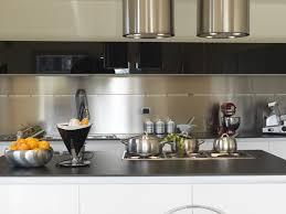 peinture credence cuisine peinture inox pour carrelage 0 credence cuisine inox survl com