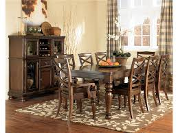 Ashley Kitchen Furniture by Ashley Furniture Porter House Rectangular Extension Dining Table