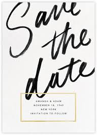 save the date ideas save the date gold paperless post order your personalized