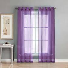 Purple Sheer Curtains Purple Sheer Curtains Drapes Window Treatments The Home
