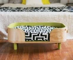 Dog Beds Made Out Of End Tables Ottoman Dog Bed Foter