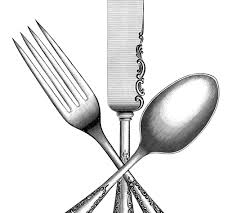 vintage silverware image the graphics fairy