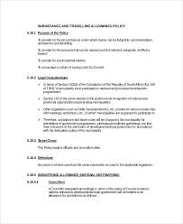 travel policy images Travel policy template 7 free word pdf document downloads jpg