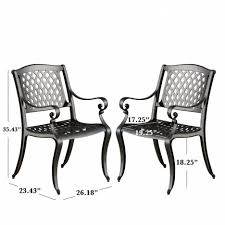 Aluminum Dining Room Chairs Elegant Interior And Furniture Layouts Pictures White Patio