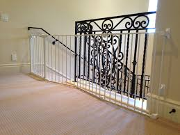 Pictures Of Banisters Metal Baby Gate For Stairs With Banister Best Baby Gates For