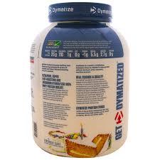 dymatize nutrition iso 100 hydrolyzed 100 whey protein isolate