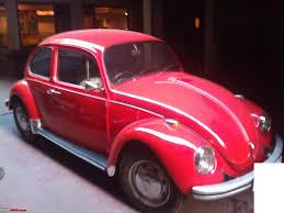 volkswagen old beetle vw beetle 1969 team bhp