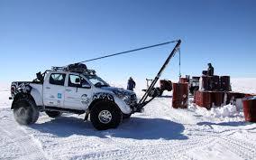 diesel toyota hilux uses jet fuel in trek through antarctica