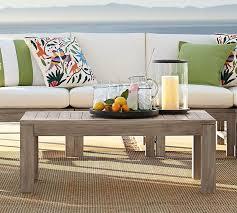 Deck Coffee Table - indio coffee table pottery barn