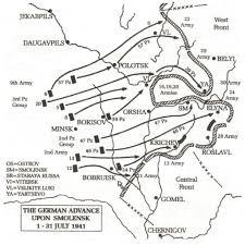 Battle Of Kursk Map Operation Barbarossa A Brief Military History Operation Barbarrosa