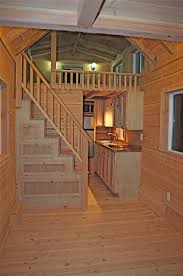 Tiny House Plans On Wheels A Tiny House On Wheels With Two Lofts And Stairs In Felton