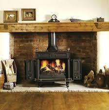 wood burning stove photo gallery images photos brick fireplace