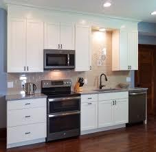 kitchen design dc interiors renovations madison wi white craftsman kitchen shaker style white kitchen beige subway tile graphite appliances
