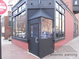 keeping your customer comfortable with a vestibule atlantic awning