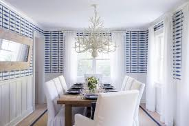 10 chandeliers that are dining room statement makers hgtv s coastal blue and white coastal dining room