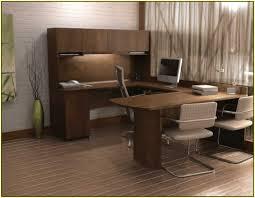 U Shaped Home Office Desk by Make A Simple Corner L Shaped Office Desk Decorative Furniture