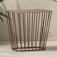 Wire Side Table Wire Coffee Table In Coffee Tables Reviews Cb2