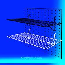 Peg Board Shelves by Perimeter Hardware Pegboard Hooks And Display Shelving
