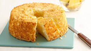 two ingredient pineapple angel food cake recipe bettycrocker com