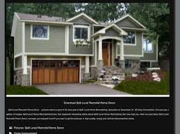 Updating Exterior Of Split Level Home - 21 best raised ranch images on pinterest split level remodel