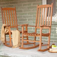 Indoor Patio Furniture by Coral Coast Indoor Outdoor Mission Slat Rocking Chair Natural