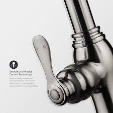 Pull Down Spray Kitchen Faucet Campania Single Handle Kitchen Sink Faucet With Pull Down Sprayer