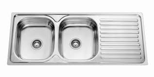 Double Stainless Steel Kitchen Sink by Awesome Stainless Steel Double Bowl Kitchen Sink Best Double Bowl
