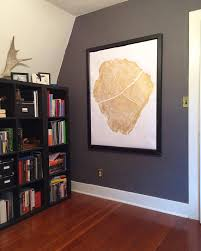 gold print tree ring print gold wall oversized gold