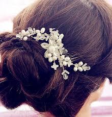 hair brooch hair comb wedding haircomb bridal comb wedding hair comb