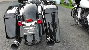 4 5 extended saddlebags matched to factory paint codes for harley