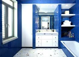 navy blue bathroom ideas blue and white bathroom decor ideas blue and white