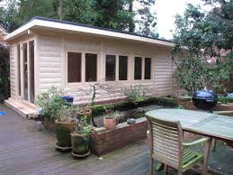 shedworking garden office swimming pool