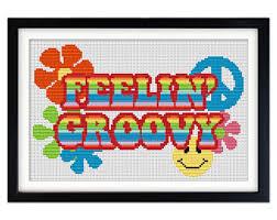 retro cross stitch etsy