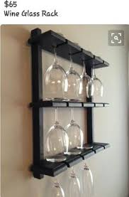 wine glass cabinet wall mount 16 rustic wine glass rack hanging stemware glass holder display