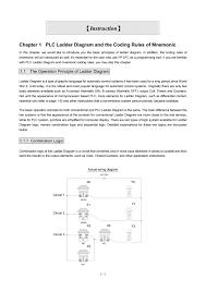 лестничные диаграммы правила программирования и мнемоника plc